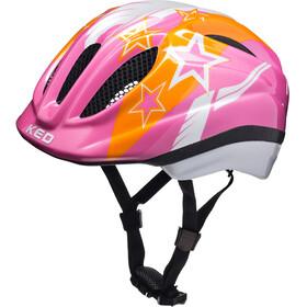 KED Meggy II Helmet Kids Pink Stars